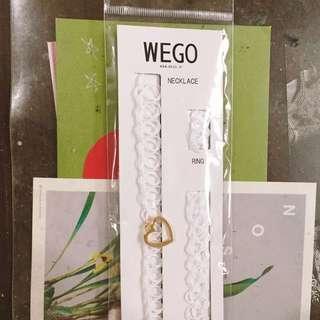 Wego 愛心頸圈