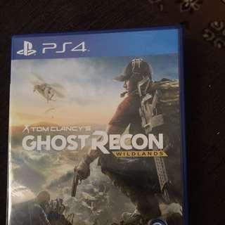 PS4 Tom Clancy Ghost Recon Wildlands $50