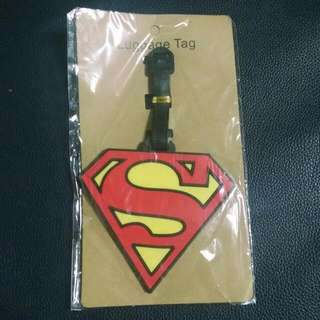 Superman Luggage Bag Tag