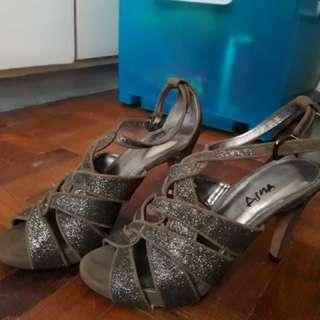 Glittery Italian Stitletto Shoes