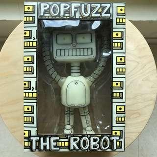 Popfuzz The Robot, Glow In The Dark Vinyl Figure