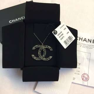 Chanel 大CC Logo Necklace