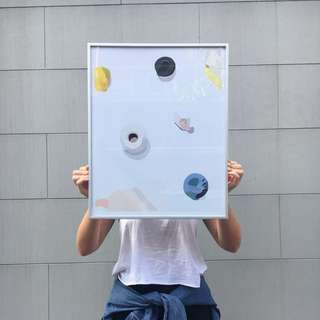 Abstract Art Print 40x50cm