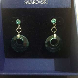 Swarovski Turn Antique Earrings