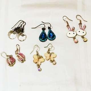 All Earrings For $12.