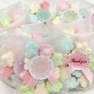 浪漫棉花糖~婚禮小物 二進糖果 送客喜糖 桌上禮 慶生會糖 派對糖果 園遊會