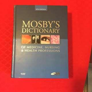 Mosby Dictionary Of Medicine, Nursing&Health Professions