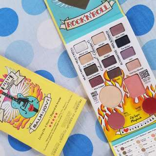 100% Authentic The Balm Jovi Rockstar Palette