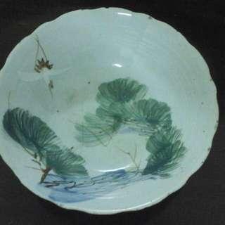 二手碗盤,古早碗盤,古董碗盤,老碗盤,