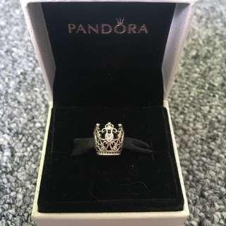 Pandora Disney Princess Crown Charm