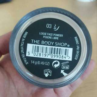 100% Authentic The Body Shop Loose Face Powder Shade 03