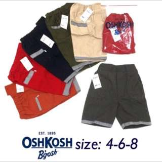Oshkosh Short Pants / Celana Pendek Anak Laki2 Branded