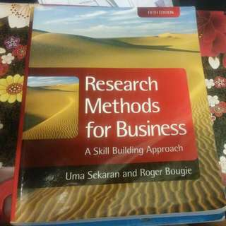 Research Methods for Business(Fifth Edition)