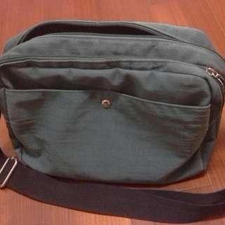 黑人頭target 側背包 錢綠色 #轉轉交換