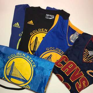 Authentic Basketball Jerseys And Drawstring Bag