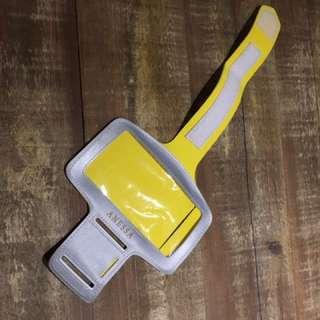 🚚 運動手機臂套(黃色)
