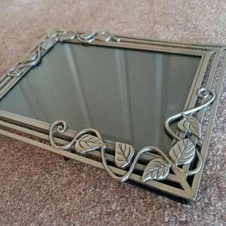 Metal Floral Photo Frame