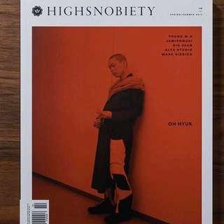 (收)Highsnobiety雜誌