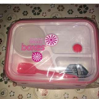PROMO ONGKIR! Heart Lunch Box (HARGA TERMASUK ONGKIR JABODETABEK)