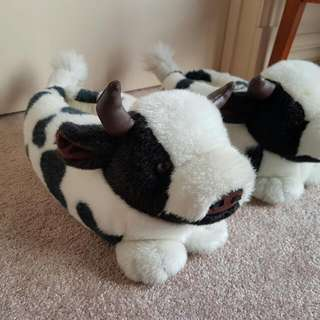 Cow Comfy Warm 'Uggs Shoes'