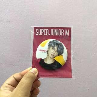 [official] SuJu Kyuhyun Button Badge