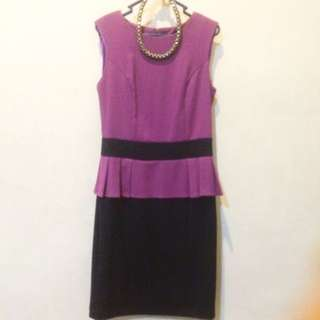 dress ungu size s