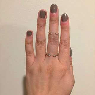 PRICE DROP- Samantha Wills Petite Ring Set