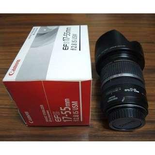 【出售】Canon EF-S 17-55mm F2.8 IS USM 鏡皇 盒裝完整 9成新