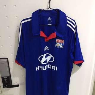 法甲 里昂 Olympique Lyonnais Hyundai XL