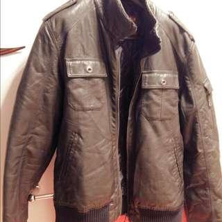 Mens Leather Springfield Jacket (UK XL)