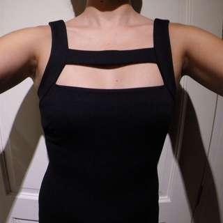 Black Mango Dress XS
