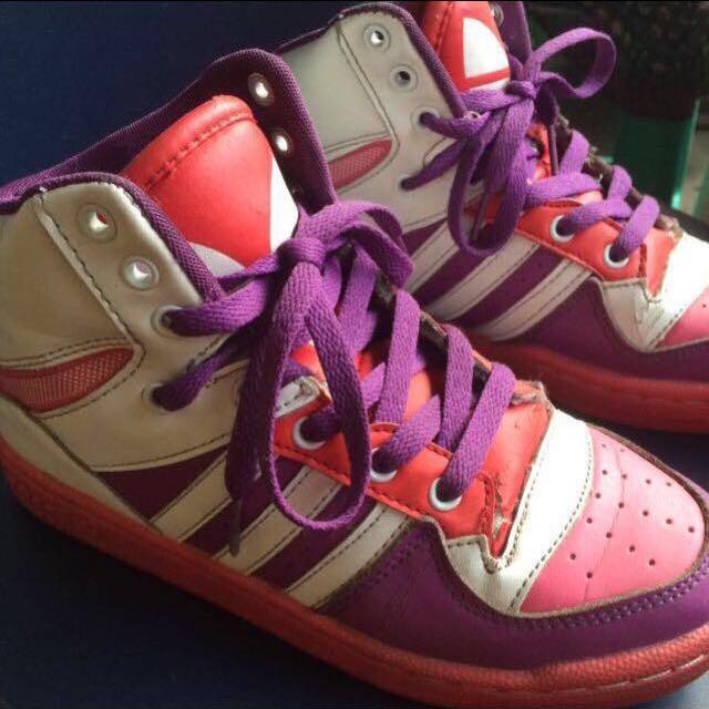 Adidas Pink Purple