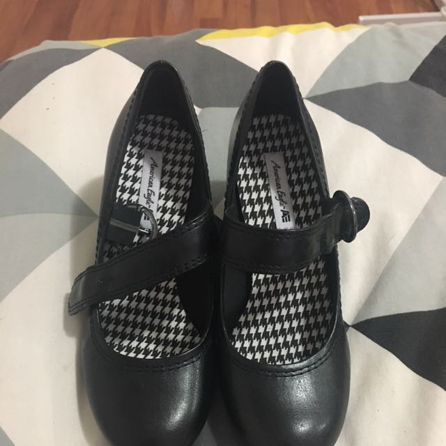 American Eagle Buckle Shoes