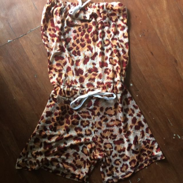 Animal Printed Romper