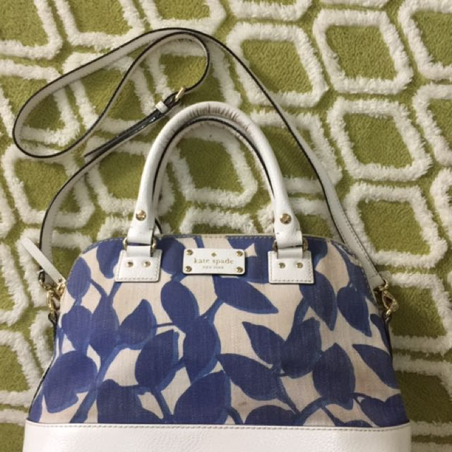 Authentic Kate Spade Wallesley Small Rachelle Leaves