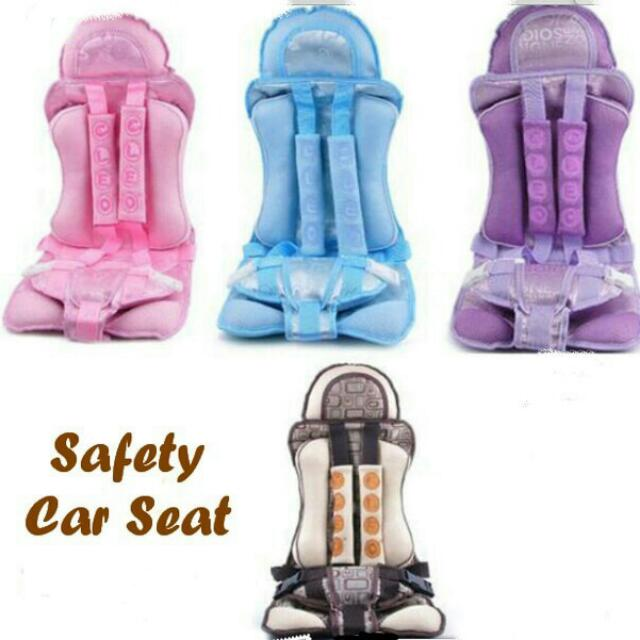 Baby Safety Car Seat / Tempat Duduk Aman Di Mobil Dengan Sabuk Pengaman
