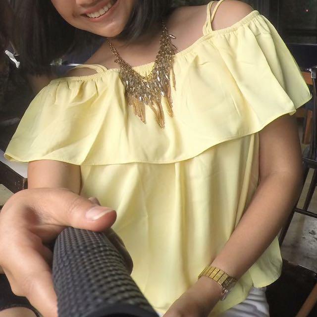 baju zalora yellow
