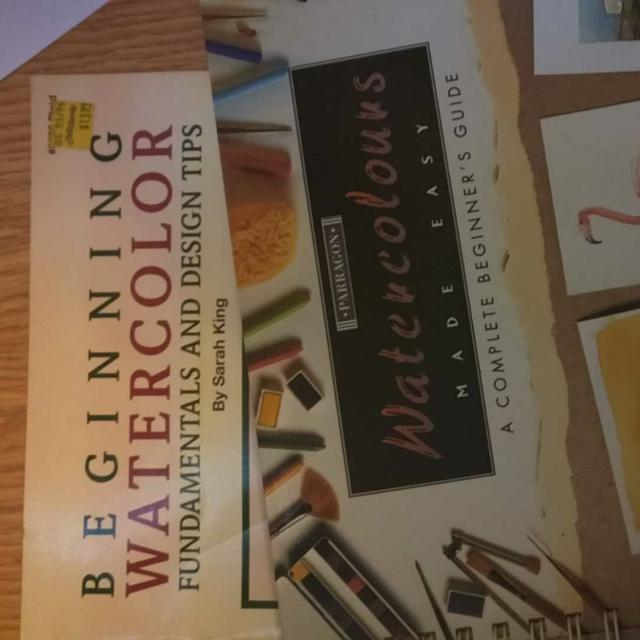 Beginner Watercolor Books