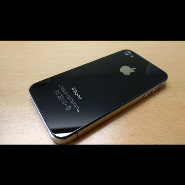 Black iPhone 4s