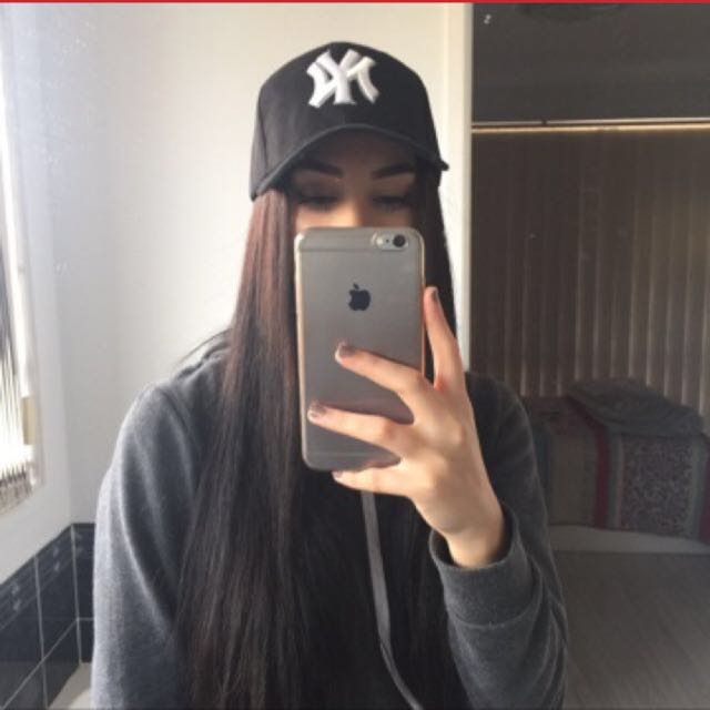 black new york cap