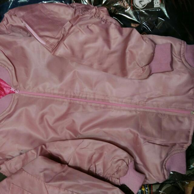 Bomber Baby Pink