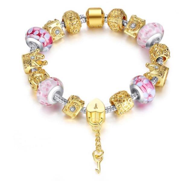 Bracelet-Lock Love-Queen
