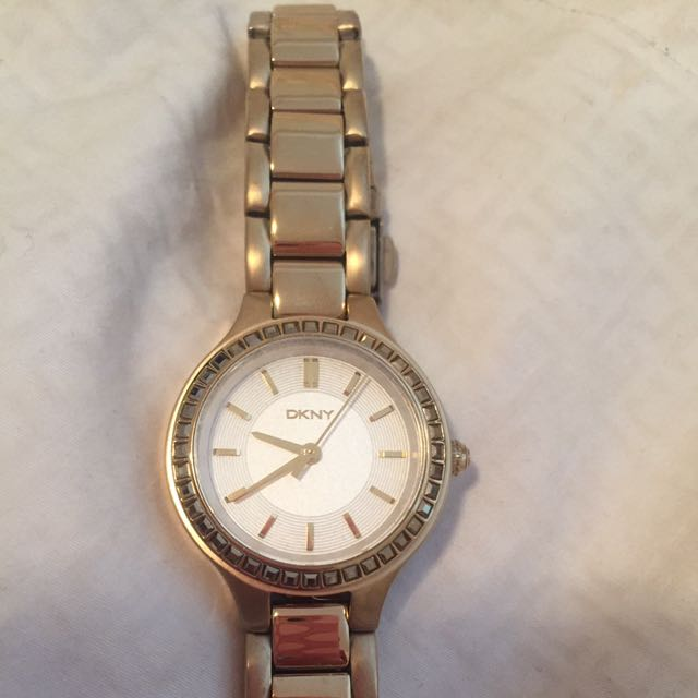 Brand New Gold DKNY Women's Watch