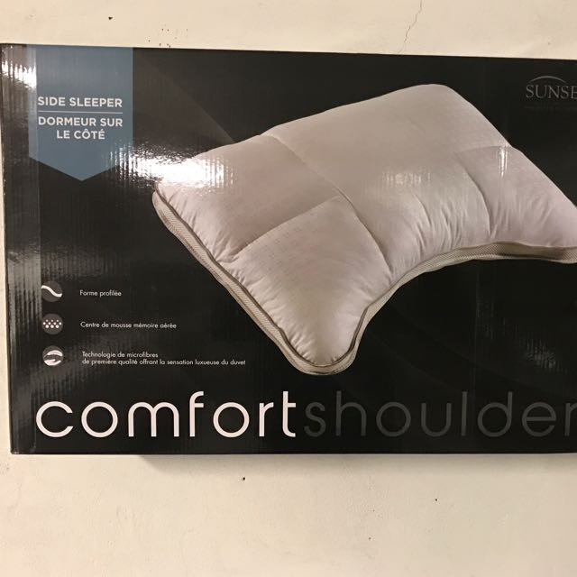 Brand New Sunset Collection Comfort Shoulder Pillow.