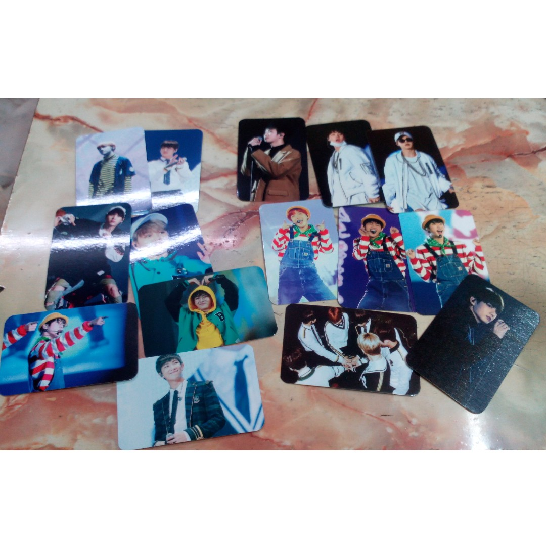 Bts 3rd muster dvd unofficial photocard buy 1 set free 1 set