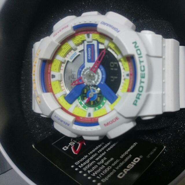 f3a0e16f7053 Casio G Shock DEE And RICKY GA-111DR-7ADR Limited Edition, Men's Fashion,  Watches on Carousell