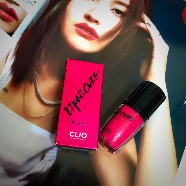 [全新]Clio釉光染唇蜜 #1桃紅