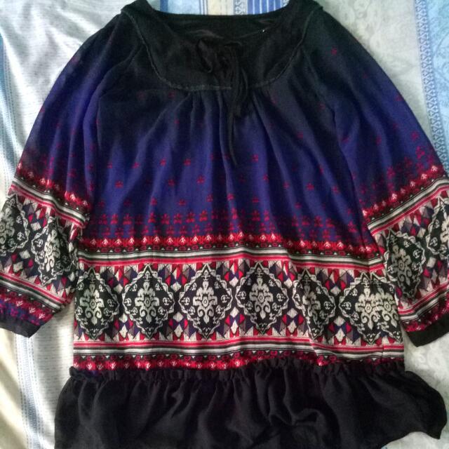 COACHELLA BOHO DRESS