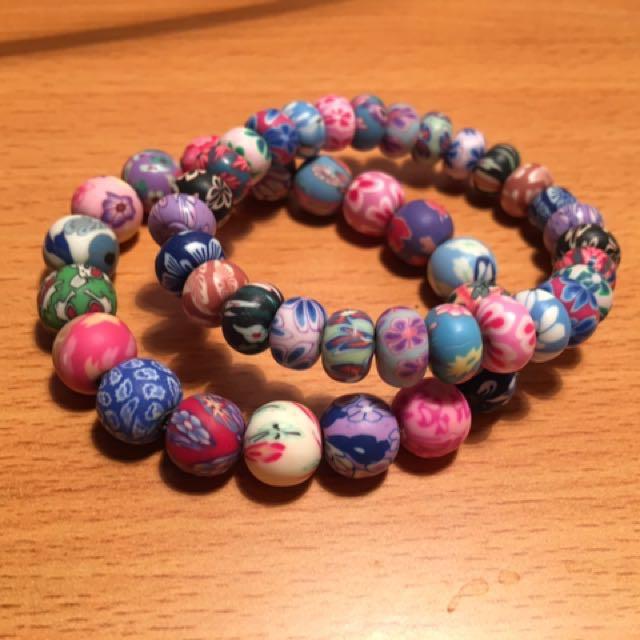 Colorful Patterned Bracelets (2)