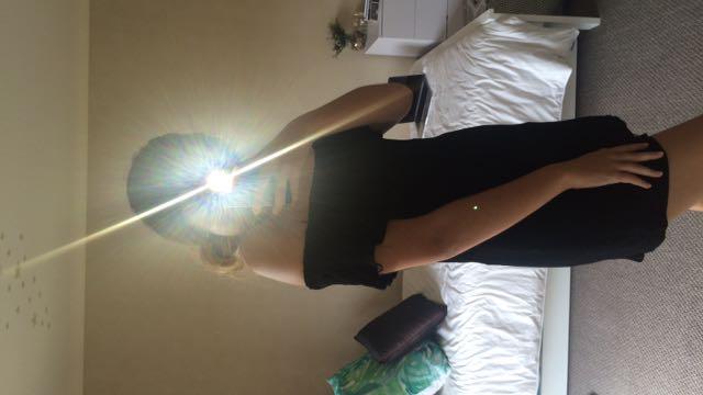 Cotton On Black Bardot Dress
